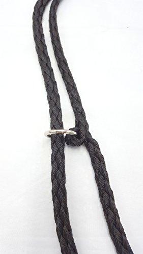 Hundeleine f. kleine Hunde Doppelleine 2,80m 4fach verstellbar schwarz - 3