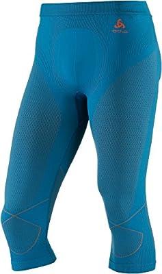 Odlo Herren Pants 3/4 Evolution Warm Unterwäsche von Odlo - Outdoor Shop