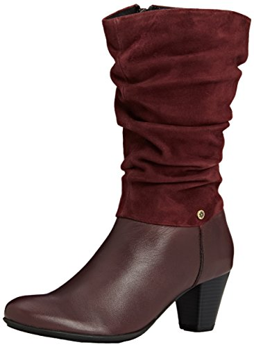 Van Dal Kline, Women's Calf Boots, Red (Port), 4 UK (37 EU)