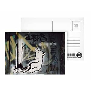 Winnie l'Ourson-trap-Carte postale (Lot de 8)-qualité supérieure
