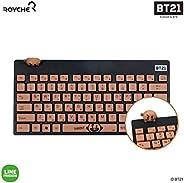 BT21 Official Figure Wireless Keyboard by Royche