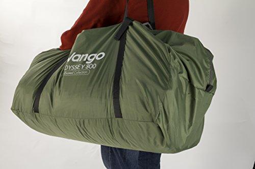 417nY6uasOL - Vango Odyssey Family Tunnel Tent, Epsom Green, 800