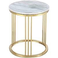 CB Marmor Kleine Runde Tisch Kreative Wohnzimmer Goldene Couchtisch Sofa  Tisch Ecke Ein Paar Lässig Lesetisch