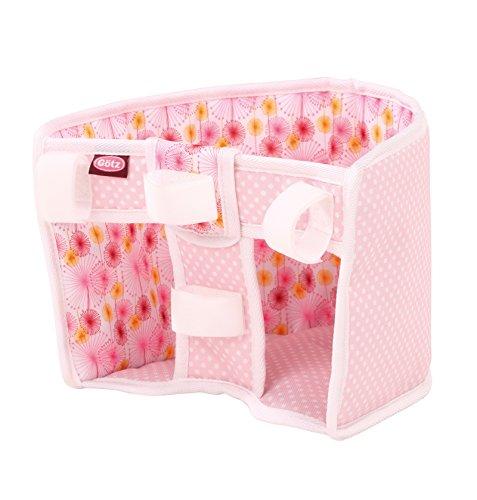 Götz 3402630 Sausewind Fahrradsitz - Puppenzubehör für alle Puppen von 27 cm bis 50 cm egal ob Babypuppe oder Stehpuppe (Dress Kleidung Me)