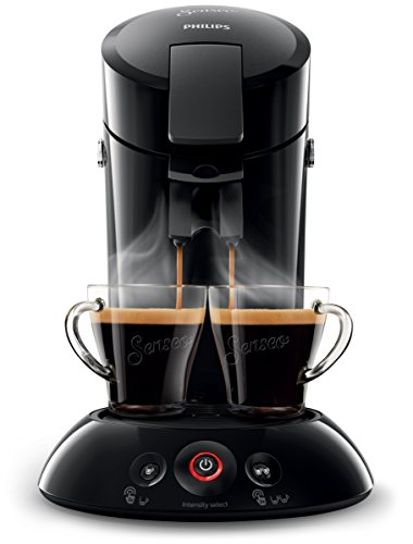 Philips HD6554/68 Senseo Kaffeepadmaschine, schwarz (Amazon Kaffeemaschinen)