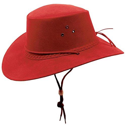 Kakadu Australia - Chapeau western - Homme Rouge