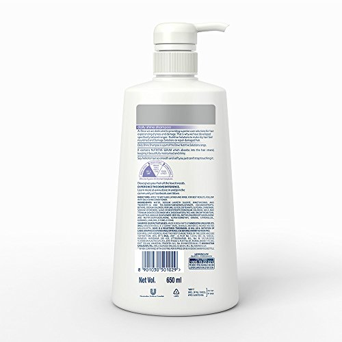 Dove Intense Repair Shampoo, 650ml