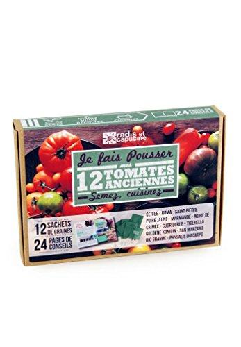 Radis et capucine - Je fais pousser mes tomates anciennes