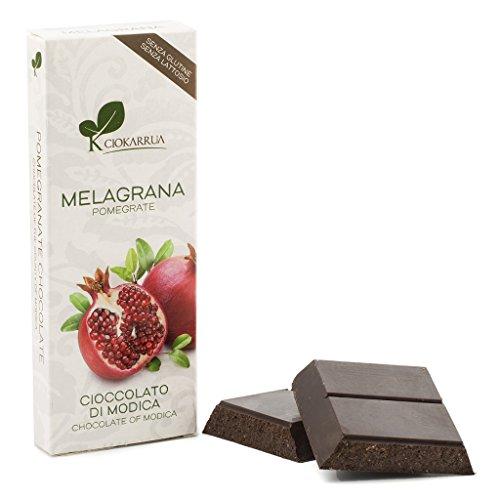 Chocolate de Modica con granada CIOKARRUA (3 tabletas de 100 gr)