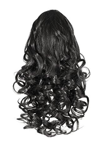Love hair extensions ricci coccodrillo fermaglio capelli sintetici coda di cavallo