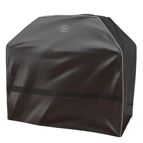 RÖSLE BBQ Abdeckhaube für Vision G3, PES Polyester, schwarz, wasserdicht, Klettverschluss - Vision Grills Zubehör