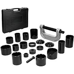 ECD Germany Kit de extractores para rótulas de la suspensión Separadores de rótulas y articulaciones Extracción de rodamientos