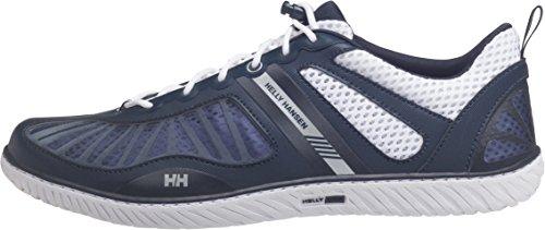 Helly Hansen Hydropower 4 Herren Bootsschuhe Blau / Weiß (597 Navy / Weiß / Silber)