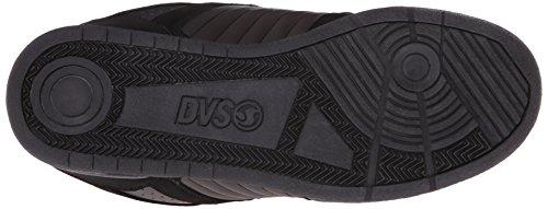 DVS (Elan Polo) Celsius - Scarpe da Skateboard Uomo Negro (De Black/Grey/Red Nubuck Deegan)
