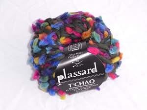 Lot de 10 pelotes de laine Plassard Tchao Kaki