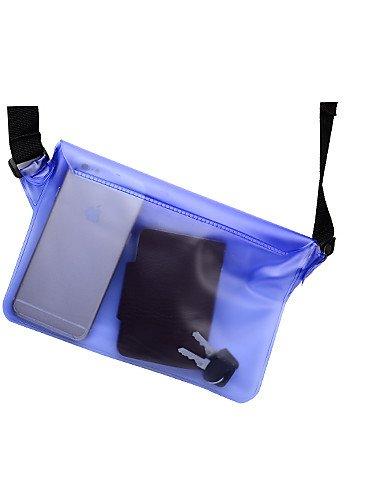 ZQ Outdoor Aktivitäten wasserdichte Unisex-Taschen (verschiedene Farben) Blau - blau