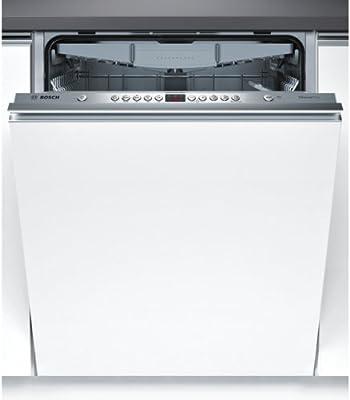 Bosch Serie 4 SMV45EX00E Totalmente integrado 13cubiertos A++ lavavajilla - Lavavajillas (Totalmente integrado, Tamaño completo (60 cm), Acero inoxidable, Botones, Frío, 13 cubiertos)