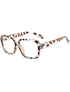 Las señoras grandes caja gafas resistentes a la radiación/Espejo plano de equipo de Blu-ray/Gafas de género resistente...