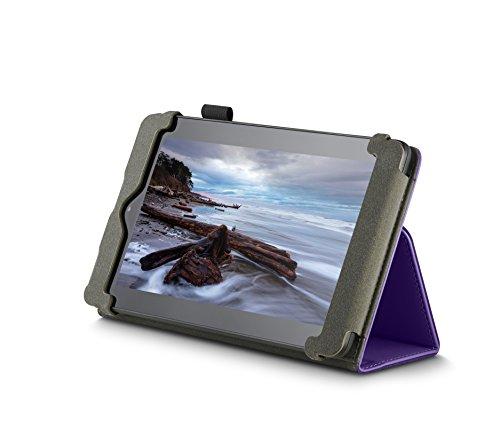 NuPro Hülle mit Standfunktion für Fire (7-Zoll-Tablet, 5. Generation - 2015 Modell), Violett