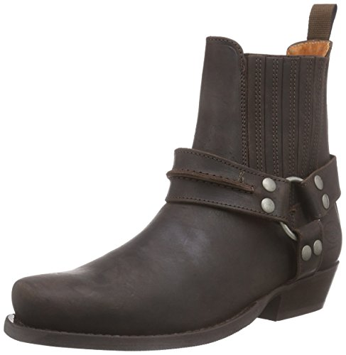 Dockers by Gerli 170102-007, Herren Biker Boots, Braun (cafe 020), 44 EU