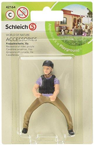 Schleich 42164 Freizeitreiterin, lila