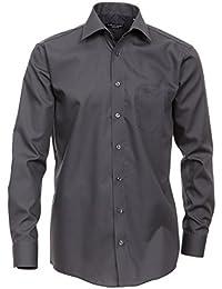 Casa Moda - Comfort Fit - Bügelfreies Herren Business langarm Hemd verschiedene Farben (006050)