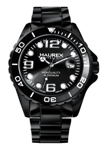Haurex Italy Women's Quartz Watch with Silver Analog Aluminium 7K374DNN Ink