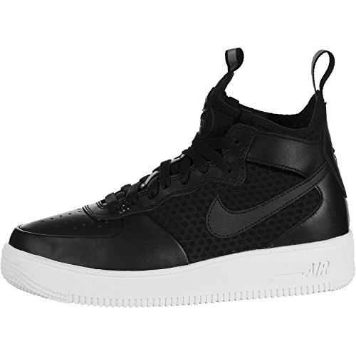 nike women's w air force 1 ultraforce metà ginnastica scarpe, nero