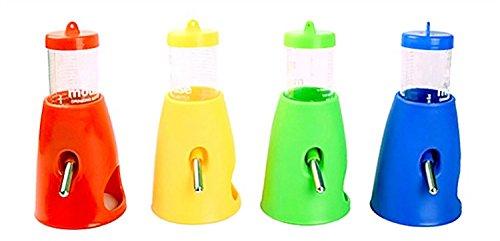 bluemoo New 2in 1Pet Wasser Fläschchen Futterspender für Hamster Ratten Gerbils Mäuse Meerschweinchen Kaninchen Kleine Tiere