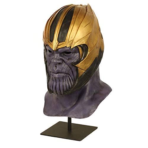 XUMING Halloween Horror Maske, Avengers, ganzer Kopf,