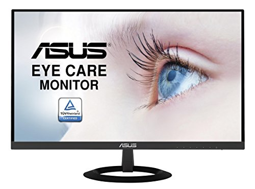 ASUS VZ249H 23.8 inch Monitor, FHD (1920 x 1080), IPS, Ultra-Slim Design, Flicker Free, Low Blue Light, TUV Certified