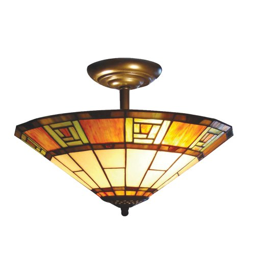 mt04-sf-semi-flush-egyptian-terracotta-tiffany-ceiling-uplighter-shade