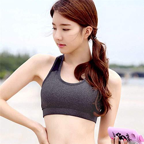 BJYG Sport-BH Yoga Frauen Training Sport-BH Tops Quick Dry Running Weste weiblich Büstenhalter -