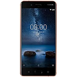 Nokia 8 Smartphone, 64 GB, Rame Brillante [Italia]