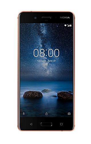 Nokia 8 Smartphone, 64 GB, Rame Brillante [Italia]...