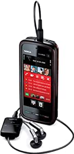 Nokia 5800 XpressMusic Smartphone (GPS, 3,2 MP, WLAN, EDGE, HSDPA, UMTS, MP3, Ovi Karten) red