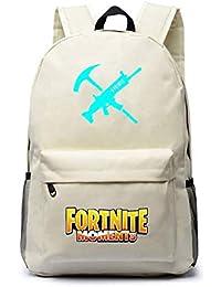 Unisex Fortnite Mochila Escolar para Niño y Niña Bolsas de Viaje Backpack Rucksack Adolescentes Mochilas Tipo