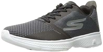 best service 16ac0 8f797 Skechers Quantum Flex-Hudzick, Chaussures de Running Homme, Noir (Black  White)