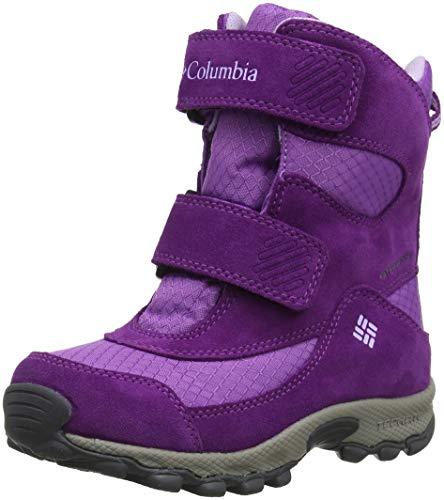 COLUMBIA Mädchen Multisportschuhe, Wasserdicht, CHILDRENS PARKERS PEAK BOOT, Violett (Crown Jewel, Phantom Purple), 27