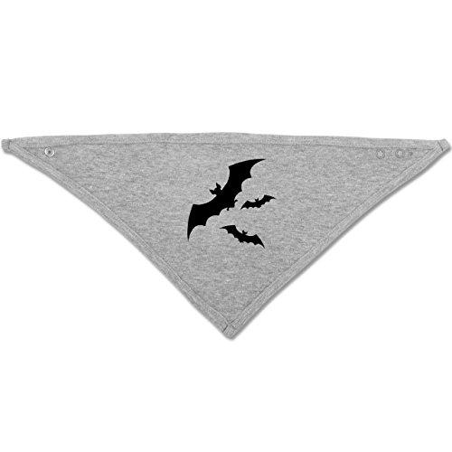 ermaus - Unisize - Grau meliert - BZ23 - Baby-Halstuch als Geschenk-Idee für Mädchen und Jungen (Vampir Outfit Ideen)