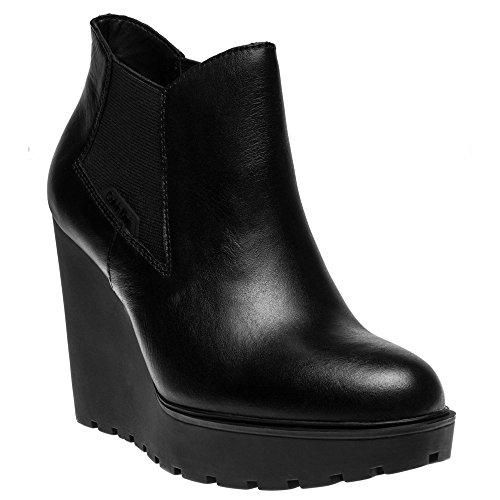 Calvin Klein Jeans Sydney Femme Boots Noir