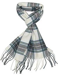 Lovarzi - Bufanda de tartán de lana para hombres y mujeres - de hecho en escocia - pura lana tartán bufandas