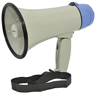 Adastra L01 10 W Megaphone with Folding Handle and Siren Function