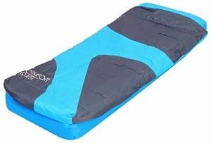 Matelas avec sac de couchage 1pers bestway vert amazon - Sac de couchage avec matelas integre ...