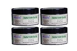KHADI RISHIKESH Herbal Under Eye Gel - 50g Each (50Gmx4)