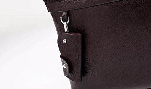 Geschäfts-Schulter-Diagonalpaket-bewegliche Mann-Retro- Computer-Beutel-beiläufige Männliche Beutel-große Kapazitäts-Querschnitt-Aktenkoffer B