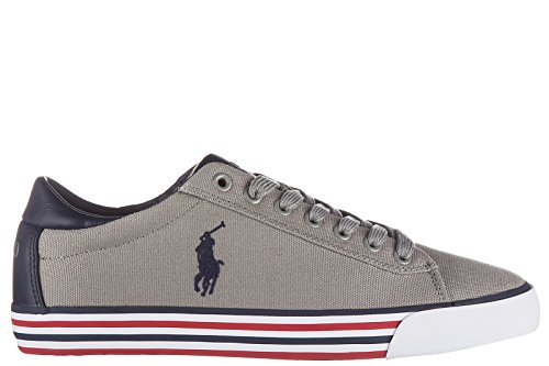 RALPH LAUREN - Baskets basses Ralph Lauren Harvey bleu maine pour homme