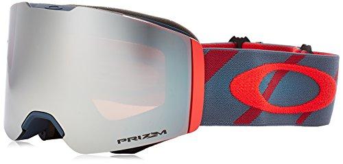 Oakley Unisex-Erwachsene Fall Line 708518 0 Sportbrille, Braun (Hazard Bar Slate Brick/Prizmsnowblackiridium), 99