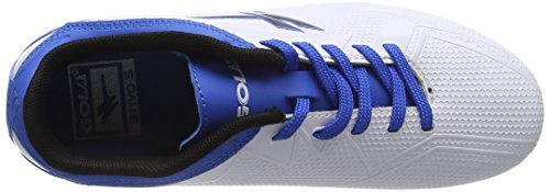 Gola Rapid Blade, Chaussures de Football Garçon Blanc (White/Blue)