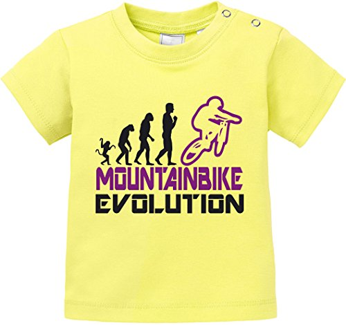 EZYshirt Mountainbike Evolution Baby T-Shirt